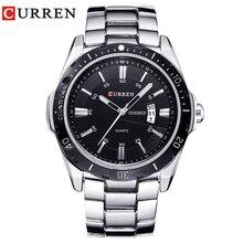 Новинка curren часы для мужчин Топ бренд модные часы кварцевые часы мужские relogio masculino мужские армейские спортивные аналоговые повседневные 8110