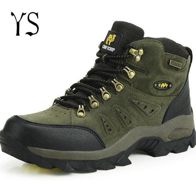 Водонепроницаемый Дышащий Мужчин Военно-Армейские Ботинки Тактические Боевые Сапоги Из Натуральной Кожи Сапоги Скальные Туфли Горные Ботинки Открытый YS x42