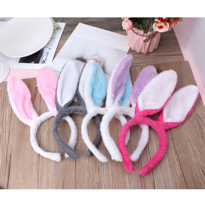 Fashion Young Baby Girl's Rabbit Ears Hairbands Children Bunny Headwear Hair Accessories 2019 Latest Style Online Sale 50%