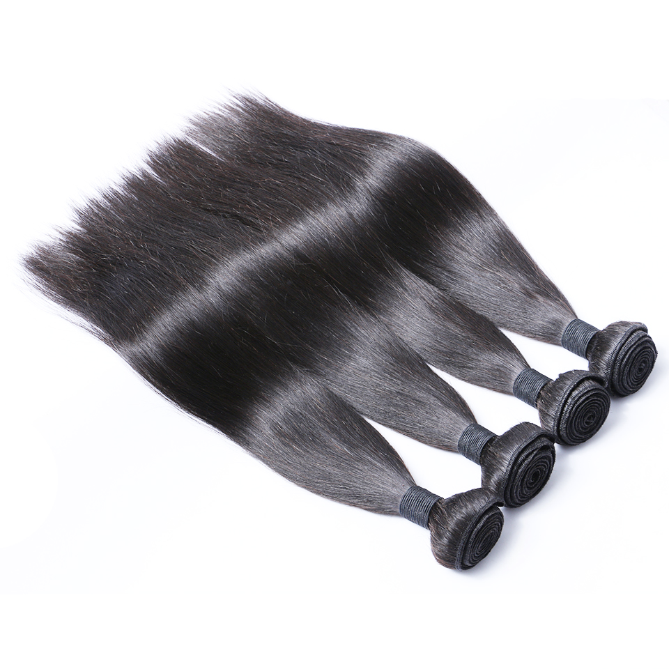 Straight Virgin Human hair bundles