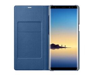 Image 5 - Original samsung led vista capa inteligente capa de telefone para samsung galaxy note8 n9500 n950f nota 8 função sono cartão bolso