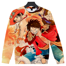 Luffy Ace Robin Nami Sanji Long Sleeve Sweatshirt