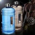 2.2L Gran Capacidad de Botellas de Agua de Deportes Al Aire Libre Camping Correr Fitness Training Workout Gym Medio Galón Botella de Agua Taza Espacio