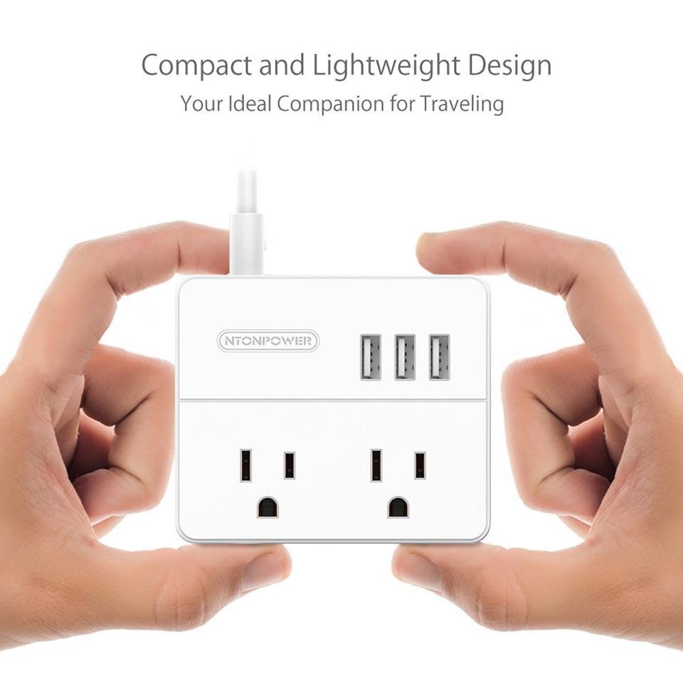 NTONPOWER OSP Travel US Electrical Plug Socket (2)