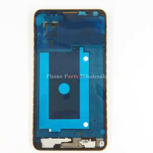 076a9e6a809c For Samsung Galaxy Note 3 N900 N9005 Silver Gold Faceplate LCD Supporting  Front