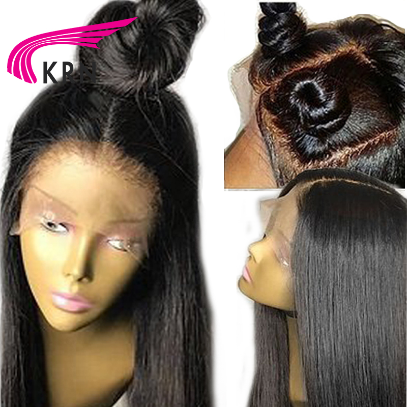 Transparent Lace 13X6 Lace Front Wigs With Baby Hair 130 Density Remy Deep Part Pre Plucked