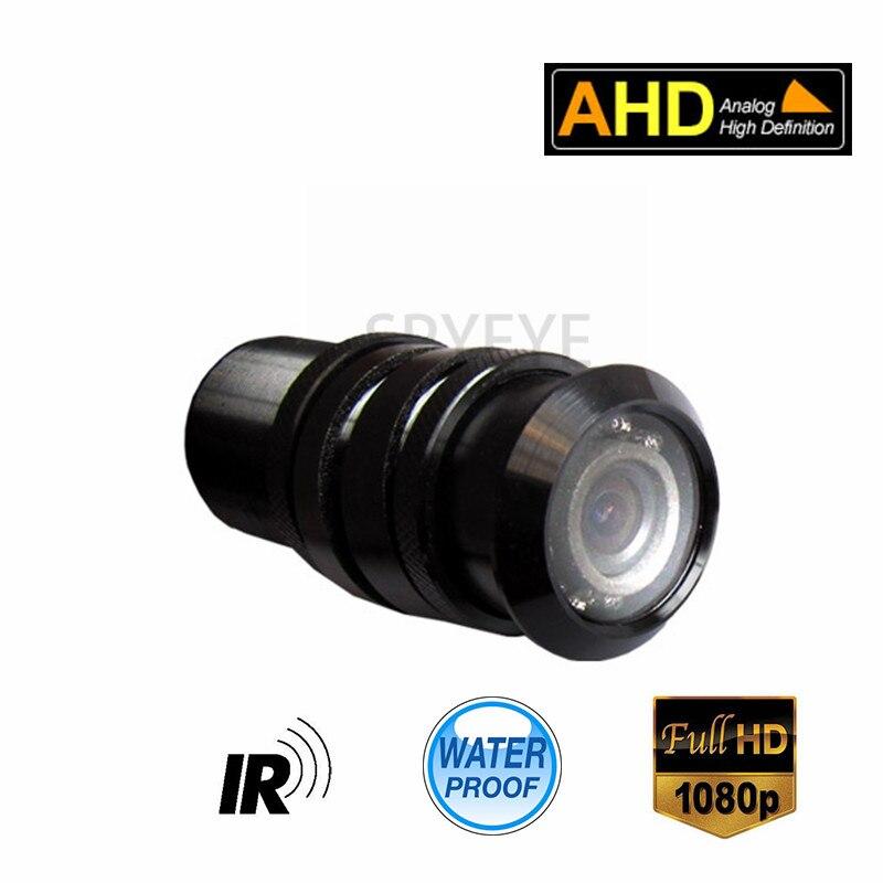 Mini Bullet 7Pcs IR Leds 1080P HD AHD Car Rear View Camera 2MP Security CCTV Camera 3.6mm Lens Waterproof IP66
