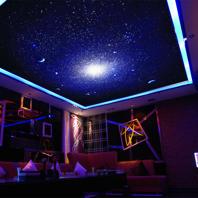 3D photo papier peint 3D stéréo Star Universe meteor