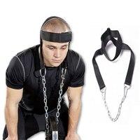 Novo E de Alta Qualidade Cabeça Harness Belt Neck Alça de Levantamento de Peso Exercício de Força de Fitness Pesos Cabeça Nylon Equipamento de Fitness
