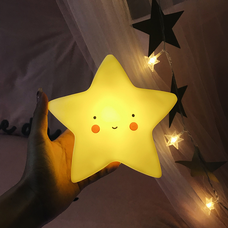 Clouds Moon Stars The Sun Novelty Lights Children Bedroom Luminescence Toys Decorative Lights Baby Feeding Novelty Lamp Gifts