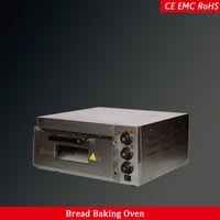 bakery equipment commercial kitchen pizza bread baking electric 1 deck oven stainless steel 20L capacity
