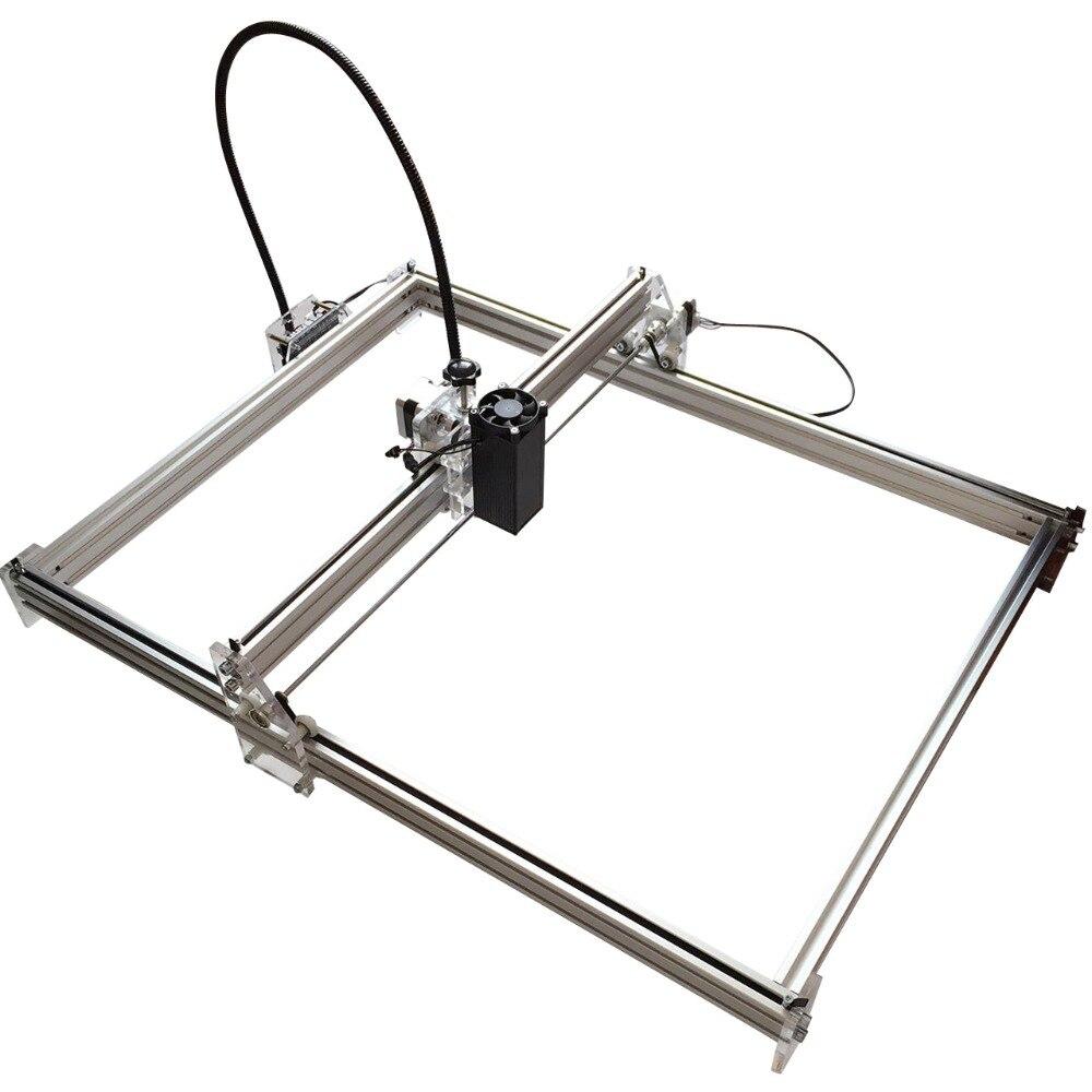 500mW Mini desktop DIY Laser engraving engraver cutting machine Laser Etcher CNC print image of 50 X 65 cm Laser Engraver