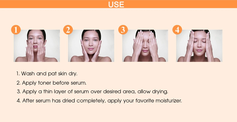 Vitamin C Serum-Usage