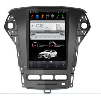 """10.4"""" Tesla Android 9.0 Fit FORD Mondeo 2007-2012 Car DVD Player Navigation GPS Radio"""
