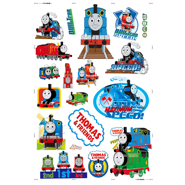 Online Shop Cartoon Thomas Train Wall Stickers For Kids Room School  Classroom Decor Wallpaper Mural Children Gift Wall Pictures Pvc Poster |  Aliexpress ...