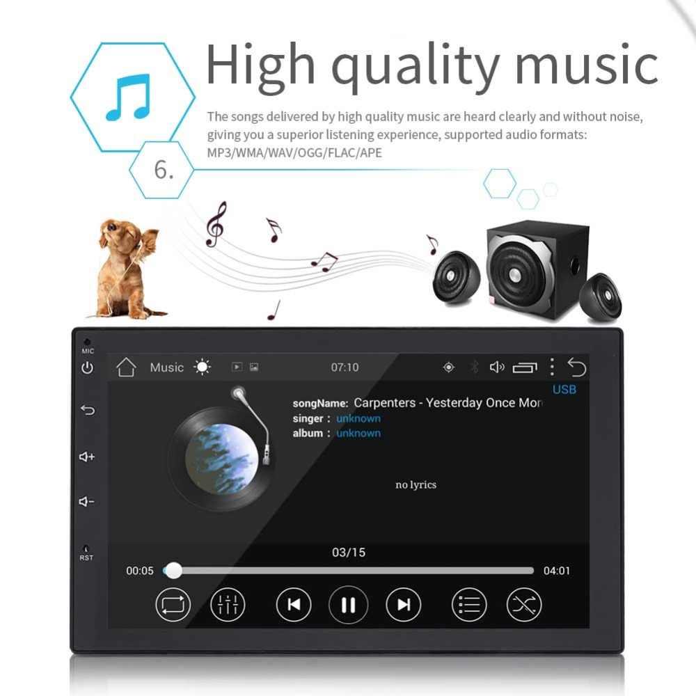 Topbox 2 Din Android 8 0 Universal Car Radio Gps Navigation Bluetooth Car Audio Stereo Fm Usb Car Multimedia Mp5 No Dvd Player