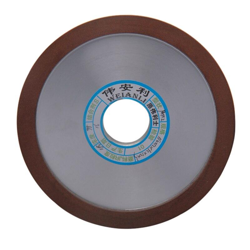 Rodas de Moedura do Diamante Disco de Moedura Hypotenuse para o Cortador de Trituração do Carboneto 320 Grits Powertool 150mm 150 – 180 240