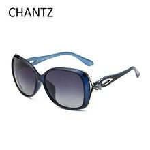 Calidad superior de La Manera de Las Mujeres de Gran Tamaño gafas de Sol Polarizadas de Conducción Gafas de Sol Para Damas de Compras Shades UV400 Gafas De Sol Mujer