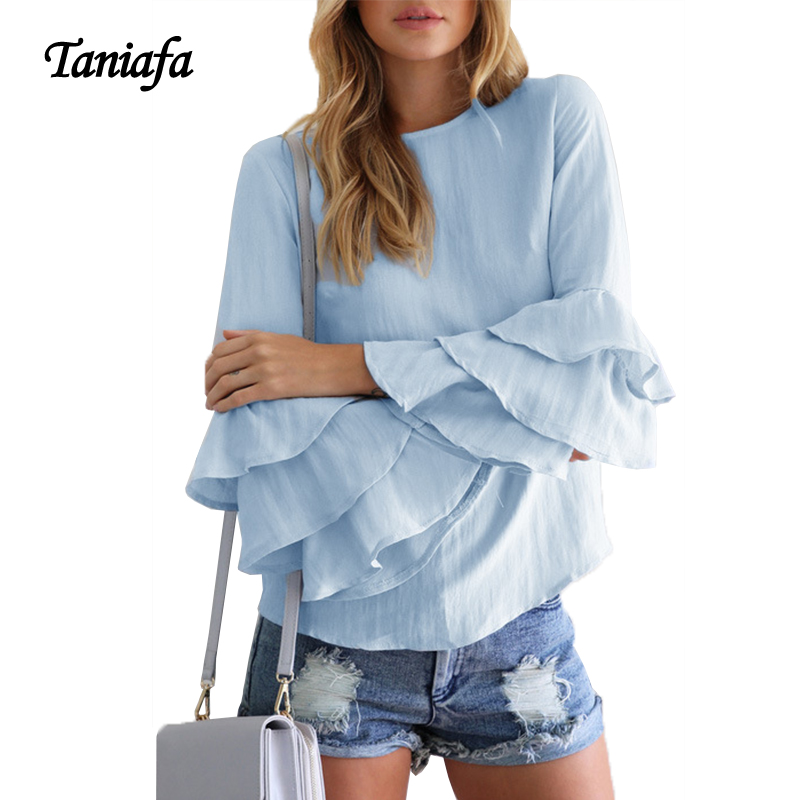 Online Get Cheap Long Sleeve Summer Blouses -Aliexpress.com ...