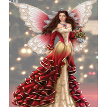 diamond embroidery fairy beauty,daimond painting women,5d 537