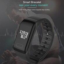 ブレスレットリストバンドフィットネス血圧メッセージレート時間スマート Huawei 社 P20 ため Lite P30 プロ P10 メイト 20 × 10 Lite