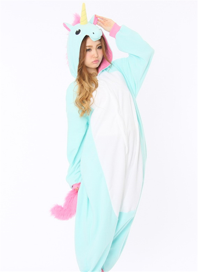 f8484430d5fb M   A Animal Onesies Unicorn One Piece Onesie Pajama For Adult Men Women  Animal Costume Jumpsuit Rompers Pajama-in Men s Costumes from Novelty    Special Use ...