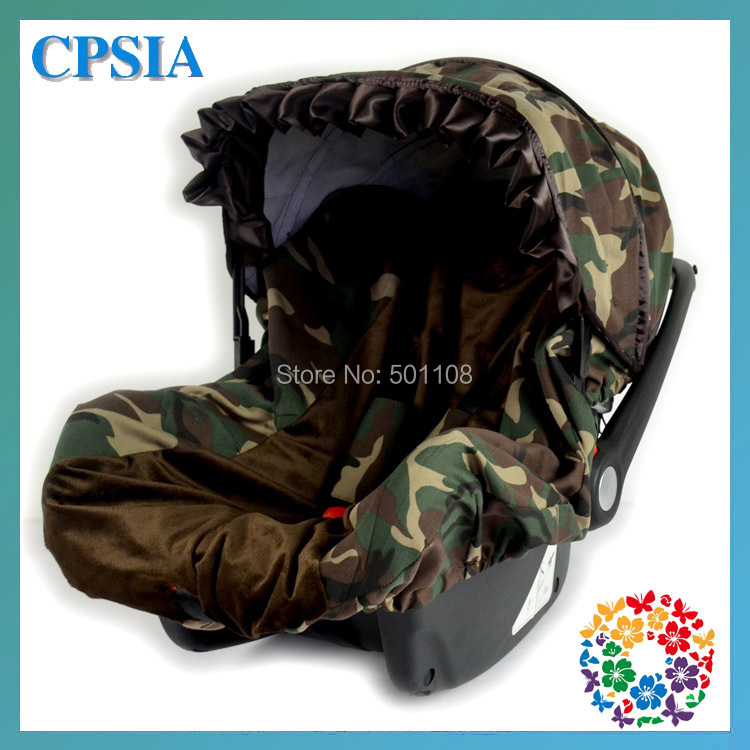 2sets Lot DHL Free Camo Brown Baby Car Seat Cover Canopy Set Fit Most Infant In Automobiles Covers From Motorcycles On