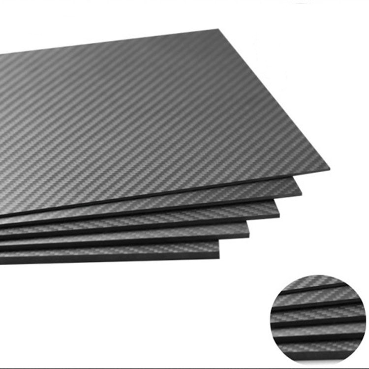 TianYuQi 4mm x 500mm x 500mm 100% Carbon Fiber Plate , carbon fiber sheet, carbon fiber panel ,Matte surface 1sheet matte surface 3k 100% carbon fiber plate sheet 2mm thickness