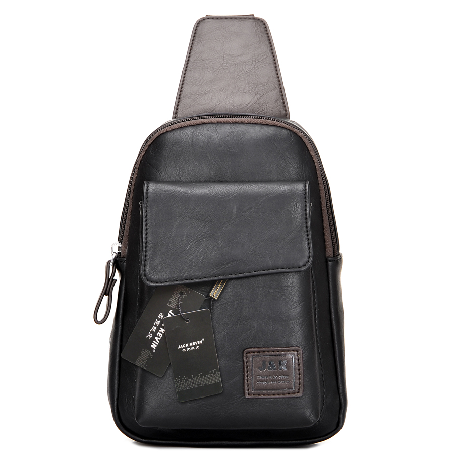 531a052aba8 Men s Fashion Retro PU Foot Leisure Travel Bag Shoulder Messenger Bag  Waterproof Wear Chest Harness Chest Pocket on Aliexpress.com   Alibaba Group