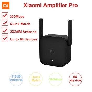 Xiaomi 300M Amplifier Pro WiFi Repeater Network Expander Power Extender Roteador 2 Antenna for Mi Router Wi-Fi Amplificador APP