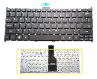 SSEA Nuevo US Teclado Para Acer Aspire 725 756 V5-171 B1 TravelMate B113 B113-E teclado negro
