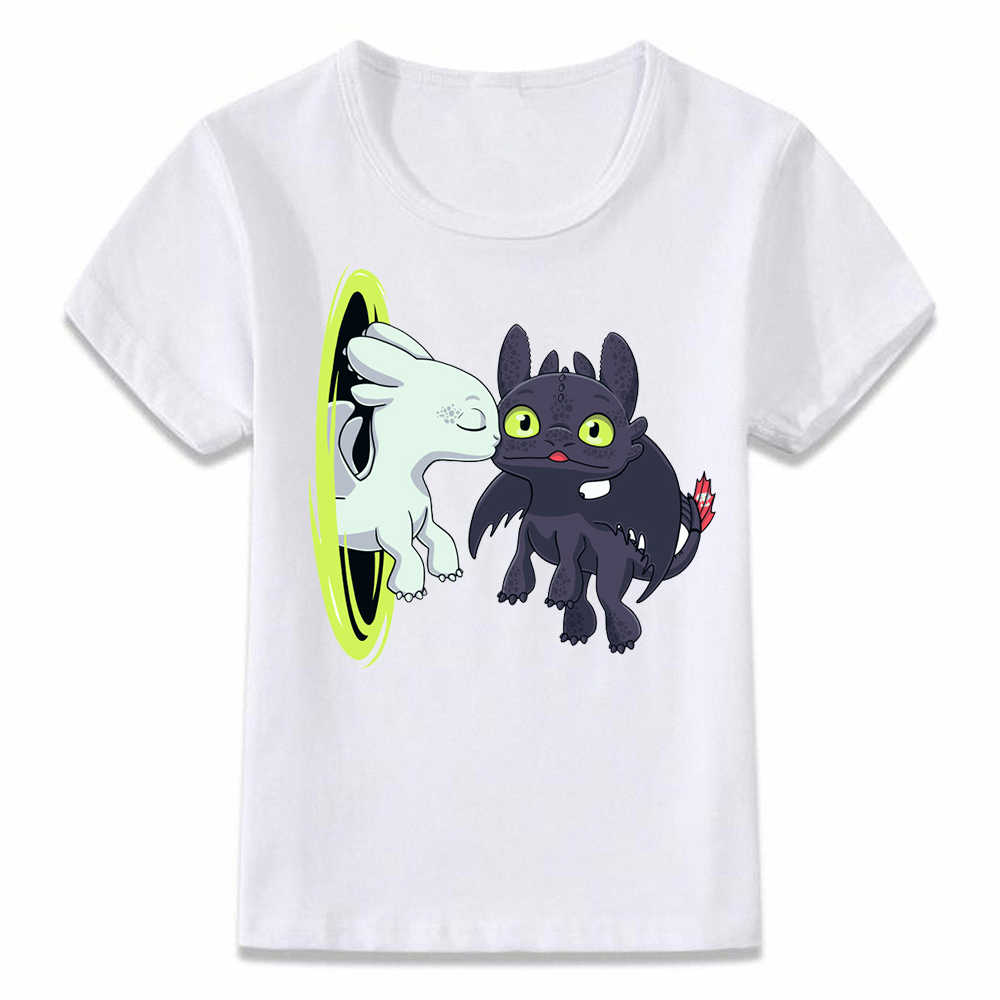 2f36d2c92 Kids Clothes T Shirt Toothless Gets A Kiss T-shirt for Boys and Girls  Toddler