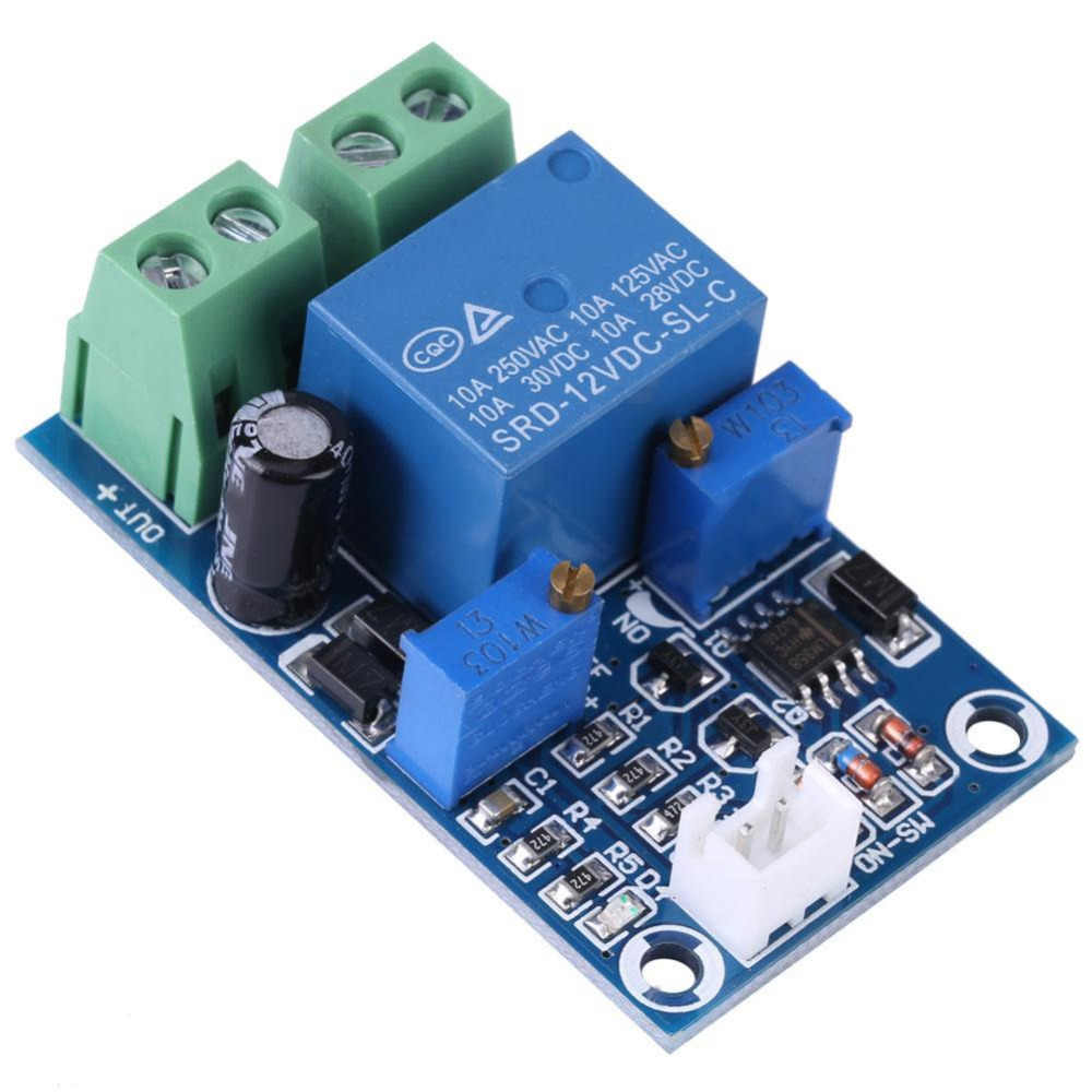 12V Battery Low Voltage Cut Off Automatic Switch On Recovery Protection Module Undervoltage Protection Board