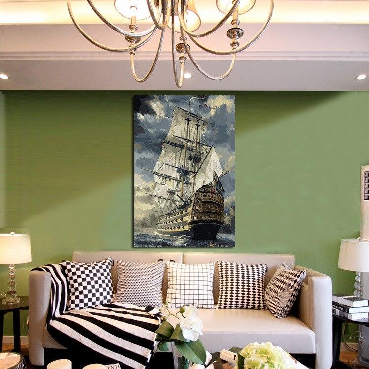 Υψηλής ποιότητας σύγχρονη καμβά - Διακόσμηση σπιτιού - Φωτογραφία 4