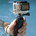 Gopro accesorios flotante mango bar handheld palillo monopod empuñadura para xiaomi yi acción cámara gopro héroe 4 3 + 3 2