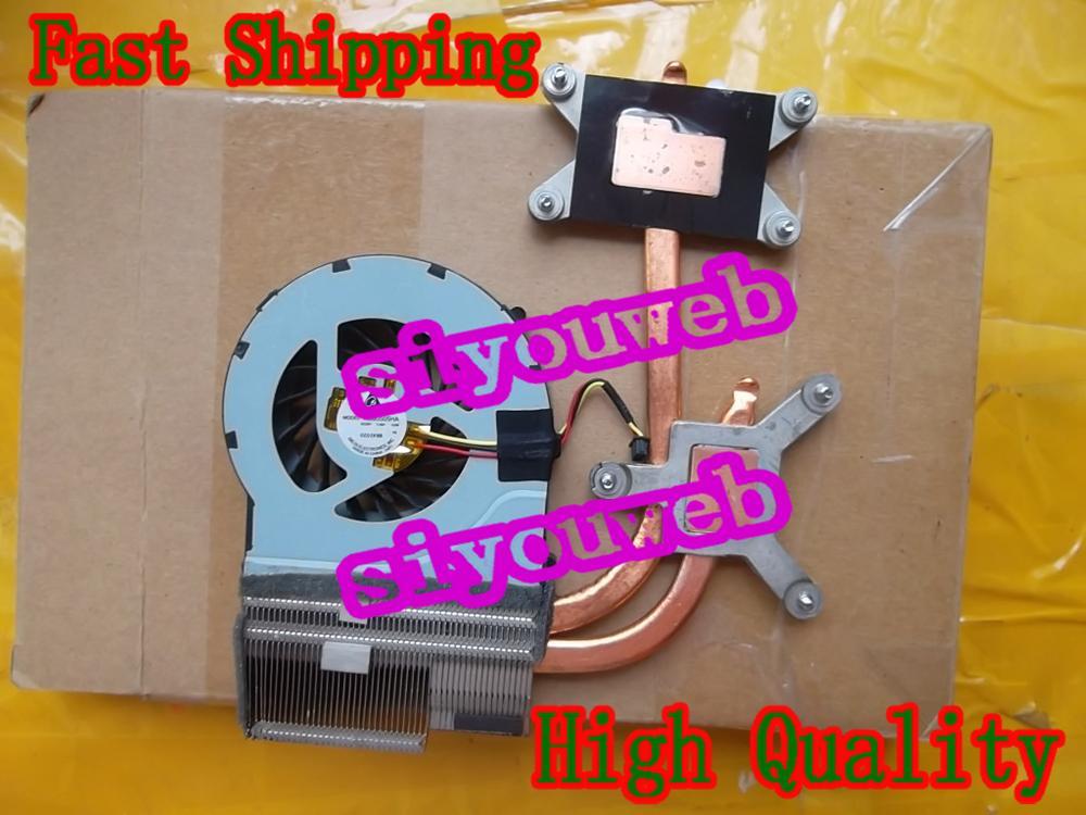 NEW Laptop CPU Cooling Fan & Heatsink 637610-001 637609-001 633077-001 622032-001 606729-001 for HP Pavilion DV6-3000 DV7-4000 iecwanx 100% new laptop battery fmvnbp225 7 2v 36wh 5000mah for fujitsu stylistic q572 w7d 001 q572 w8 001 q572 g q572