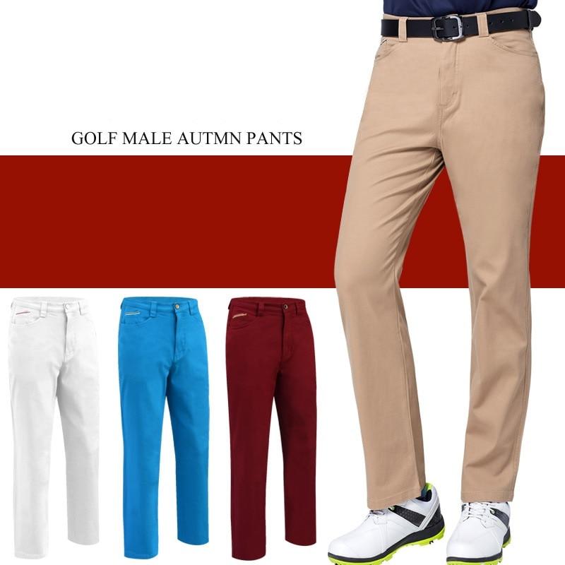 precio de descuento personalizadas disponible € 38.44 20% de DESCUENTO|Otoño Invierno pantalones de Golf para hombre  abrigados a prueba de viento pantalones largos para hombre resistente al  Golf ...