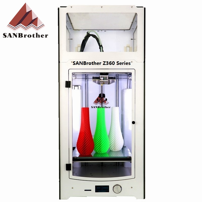 SANJIUPrinter Z360 3D Printer More Higher Than Ultimaker 2+Extended with Door and Top Cover 3D Printer DIY KIT горелка tbi sb 360 blackesg 3 м
