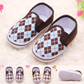 Factory Direct Silk Checkered Baby Baby Pedal Shoes Toddler Shoes 0026 NA1266
