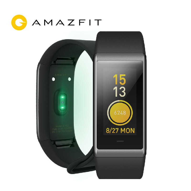 Xiaomi Huami Amazfit Cor Midong Band Smart Wristband English Version 1.23 inch Screen Heart Rate Monitor Waterproof 50m