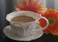 Tazza di caffè di ceramica tazza di latte tazza di vetro rustico