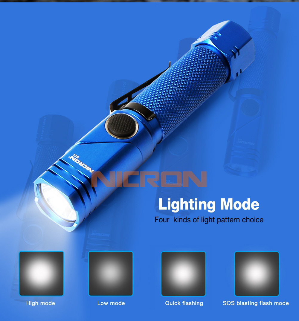 05 Adjustable light flashlight