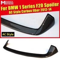AC Стиль спойлер на заднюю крышу из углеродного волокна для BMW F20 118i 120i 135i 125i крыло заднего багажника Авто Стайлинг автомобильные аксессуары ...
