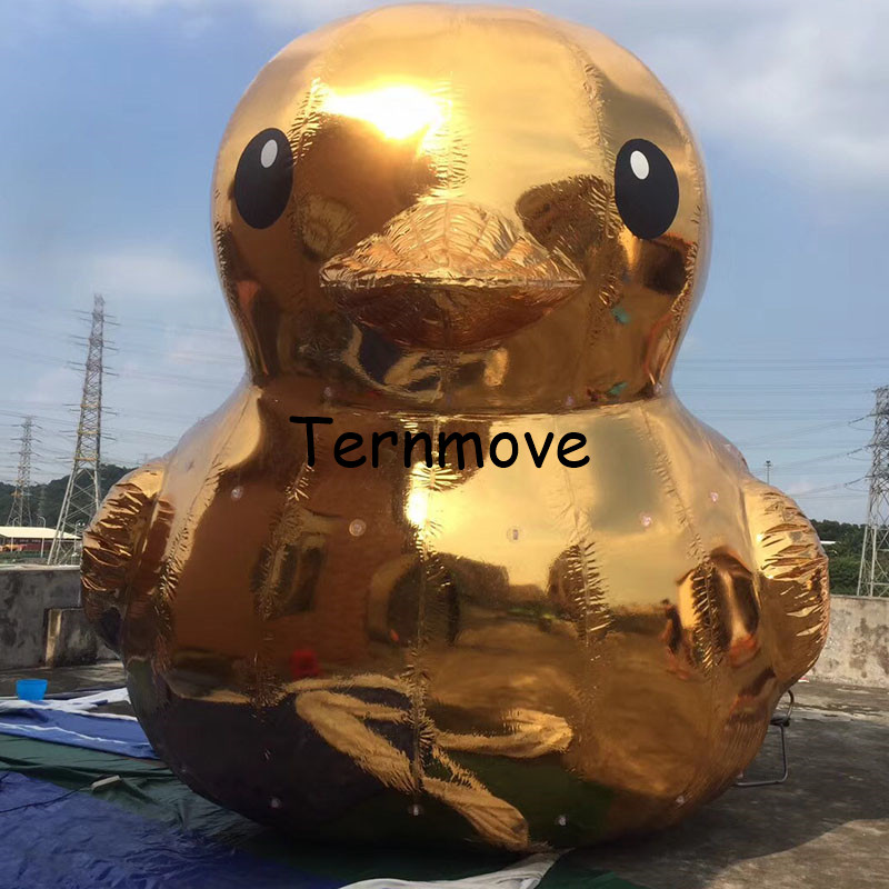 giant promotional pvc duck Inflatable Mirror Surface Christmas Ball gold mirror Ball Light Mirror Reflection Stage advertising multicolor inflatable advertising ball air ball