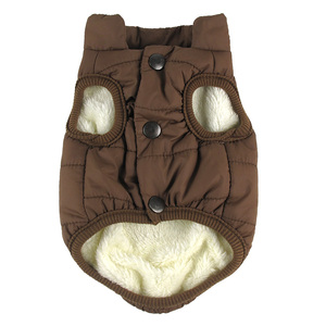 Image 4 - Winter pet coat clothes for dogs Winter clothing Warm Dog clothes for small dogs Christmas big dog coat Winter clothes chihuahua