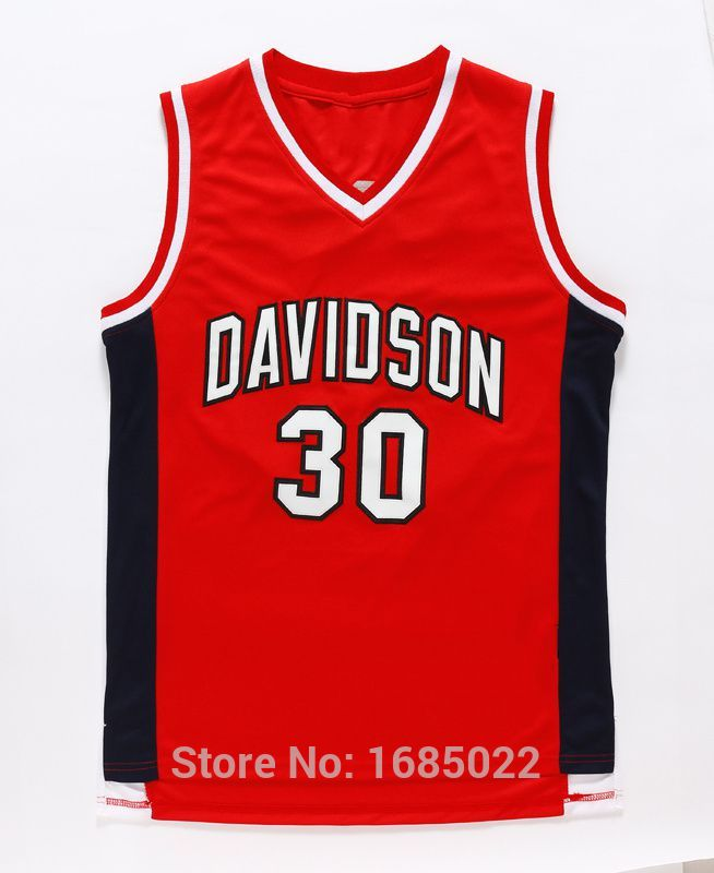 new style 4b2f5 8d442 authentic stephen curry davidson jersey