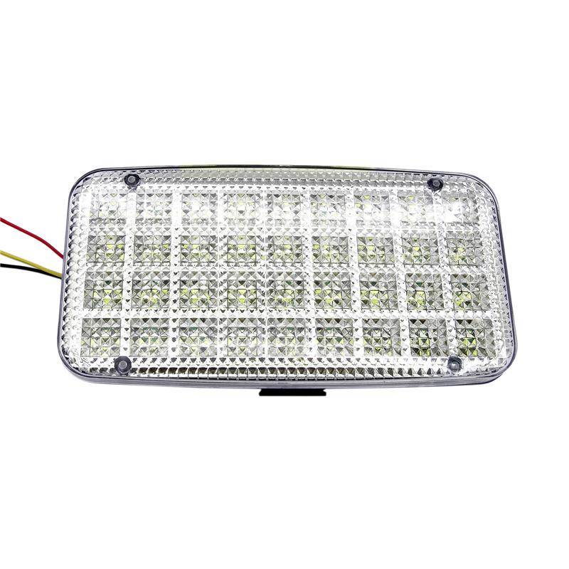 2019 New 36 LED White Light Controller Car Dome Light 12V LED White Car Van Vehicle Auto Interior Ceiling Dome Roof Lights Lamp in Signal Lamp from Automobiles Motorcycles