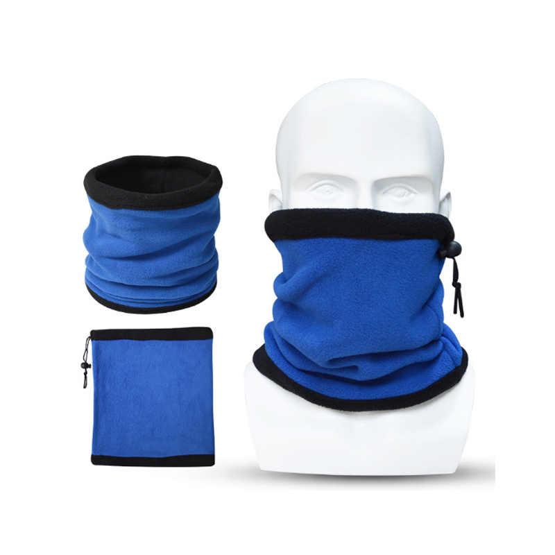 Outdoor Unisex Biker Cycling Neck Tube Scarf Snood Warm Bandana Headwear Decor