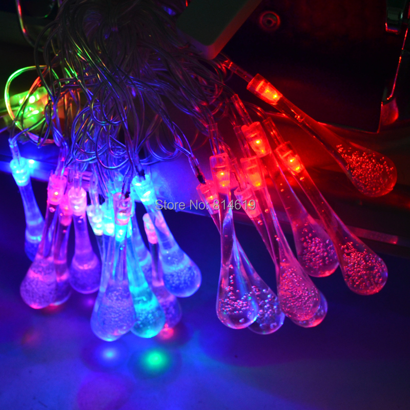 Guinness Party String Lights : 20LEDS 4M Small drops LED RGB String Christmas Light /Wedding/Party Decoration String Lights ...