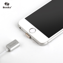 Benks Original Magnetic Charging Cable for Lightning for iPhone iPad iPod TPE Cable Metal Plug Charger Data Sync Cord for Apple